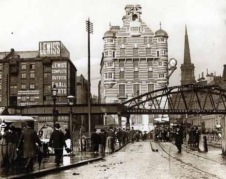 In it's former glory through the old Overhead Railway