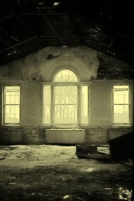 abandoned state mental hospital, Manteno, IL