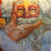 Snowflake Santa | Celia Meadors Art - Amarillo, Texas