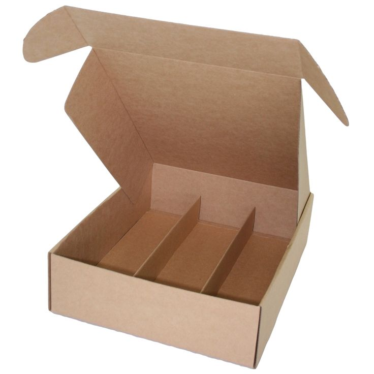 Standard Lay Down Wine Presentation Box for 3 Bottles - produced by Duncan Packaging