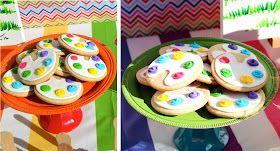 Kami Buchanan Custom Designs: A Rainbow Art Party!
