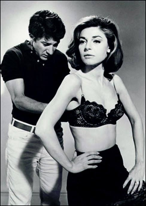 Anne Bancroft and Dustin Hoffman. Coo coo ca-choo, Mrs. Robinson... The Graduate (19