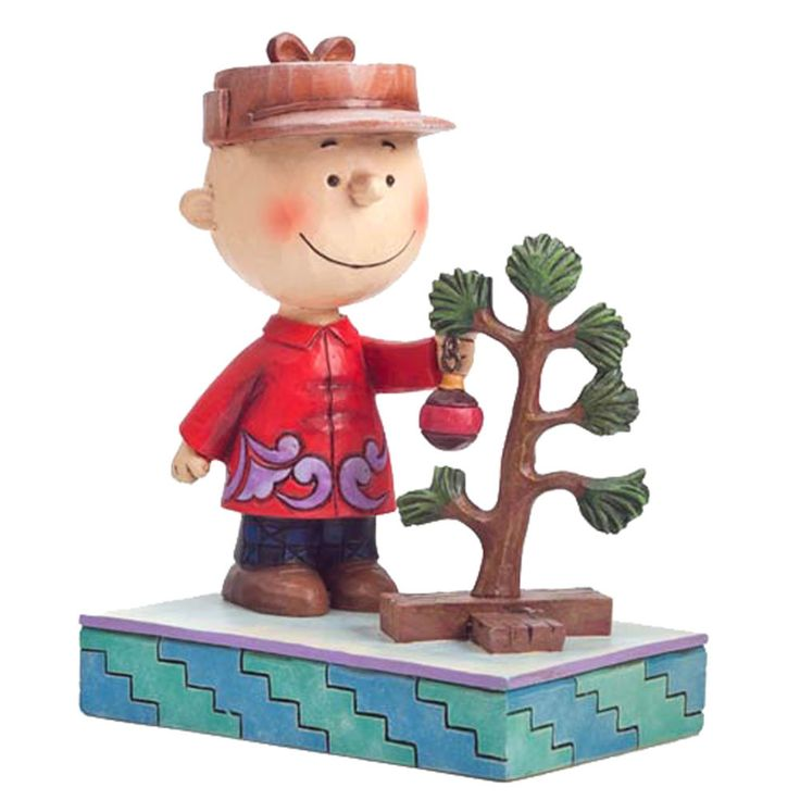 Nothing speaks to the spirit of Christmas better than Charlie Brown and his Christmas tree. Let Charlie and the Peanuts gang help you find your holiday spirit. This Peanuts Traditions Charlie Brown Fi