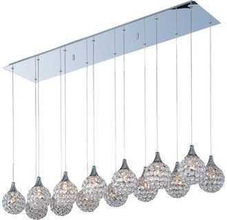 ET2 E24029-20 Crystal 14 Light Pendant from the Brilliant Collection