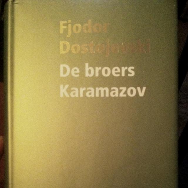 De broers Karamazov, bring it on!