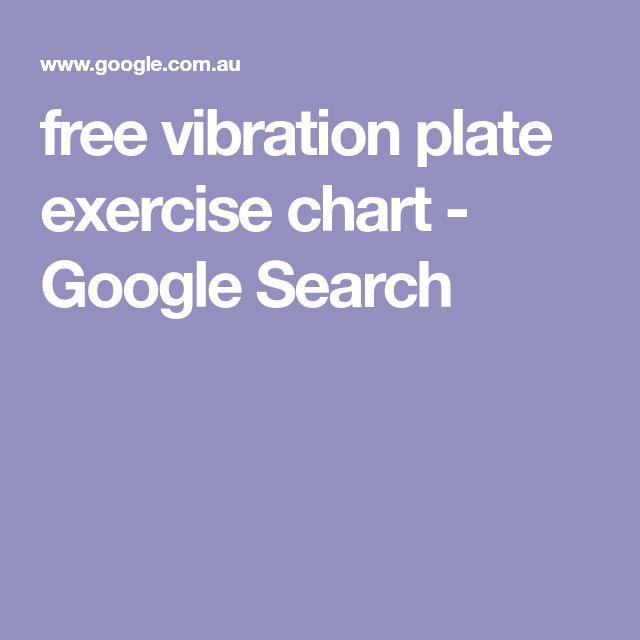vibration plate exercise chart pdf