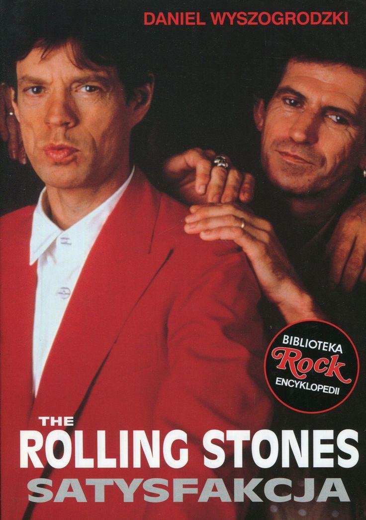 """""""The Rolling Stones. Satysfakcja"""" Daniel Wyszogrodzki Cover by Krystyna Töpfer   Book series Biblioteka Rock Encyklopedii Published by Wydawnictwo Iskry 1998"""