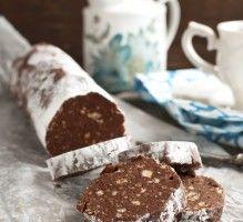 Recette - Saucisson au chocolat facile - Notée 4.2/5 par les internautes