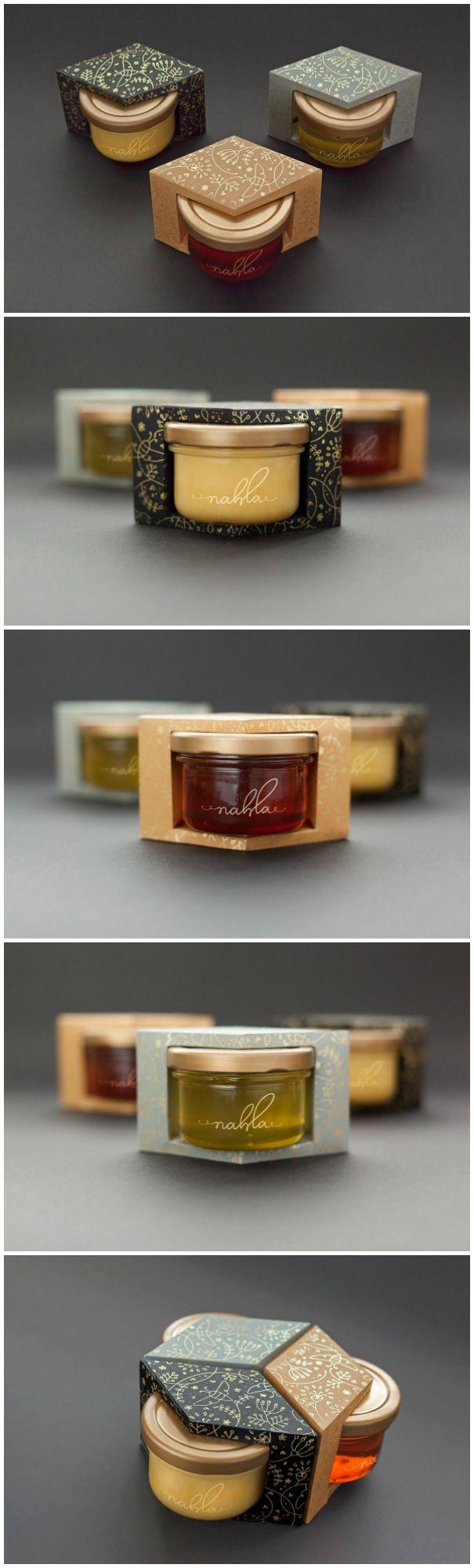 Premium Raw Organic Ethiopian Honey Branding and Packaging Design Design Agency:Cre8tive Pixels  Project Name:NAHLA Raw Organic Ethiopian Honey Location:United Kingdom Category: #Cupboard #Honey #Food