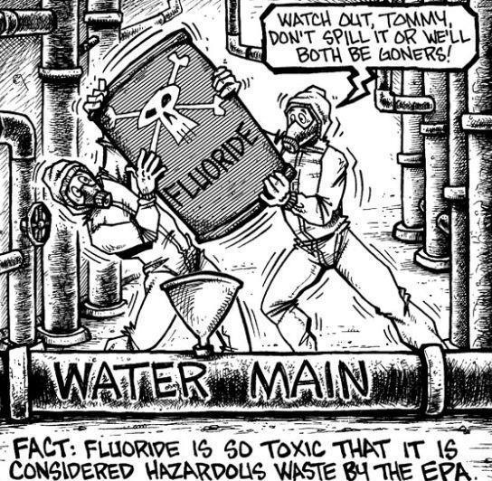 Umm and our government puts this in our water! Talk about mass society control