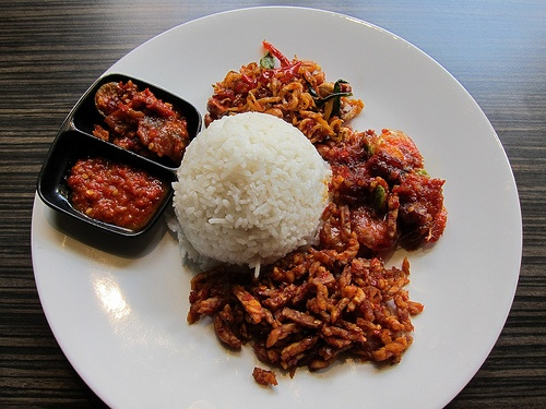 Nasi Campur ~indonesian traditional food delicious