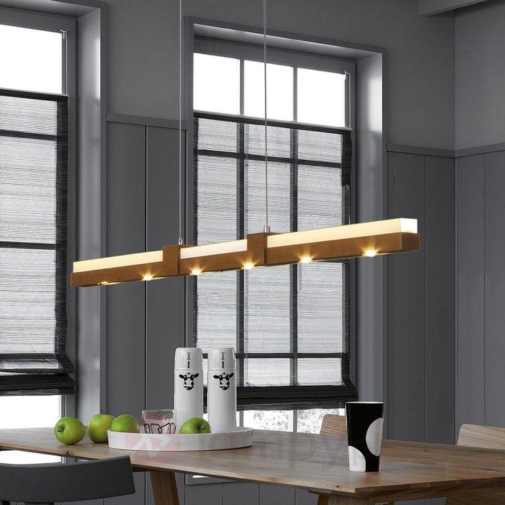 Wąska lampa wisząca LED Duo 6528149X