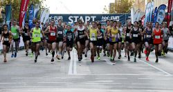 Participants in this year's HBF Run For A Reason in Perth today, Sun'. Buy or browse all images at wespix.com.au. PICTURE: NIC ELLIS   THE WEST AUSTRALIAN. TWA-0045159 © WestPix