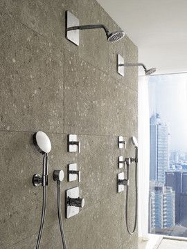 Hansgrohe Axor Collection - modern - showers - Build.com