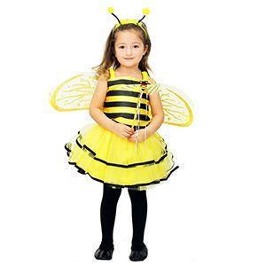 Arı Maya Çocuk Kostümü 4-6 Yaş, doğum günü elbiseleri 5 yaş