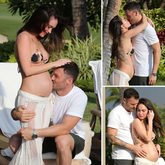 Megan Fox and Brian Austin Green escaped to Hawaii for an extra-special trip over the weekend. The couple celebrated their second wedding anniversary yesterday at the same spot in Kona where they got married on the beach in 2010.