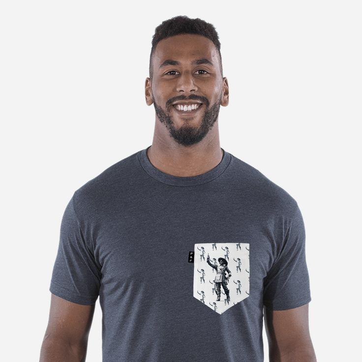 Men's clothing・Pocket tee・1642 Cola・Soda・Startup・Montreal ❖ Vêtements pour hommes・Col rond・Chandail à poche・1642 Cola・Soda・Quebec・Montréal