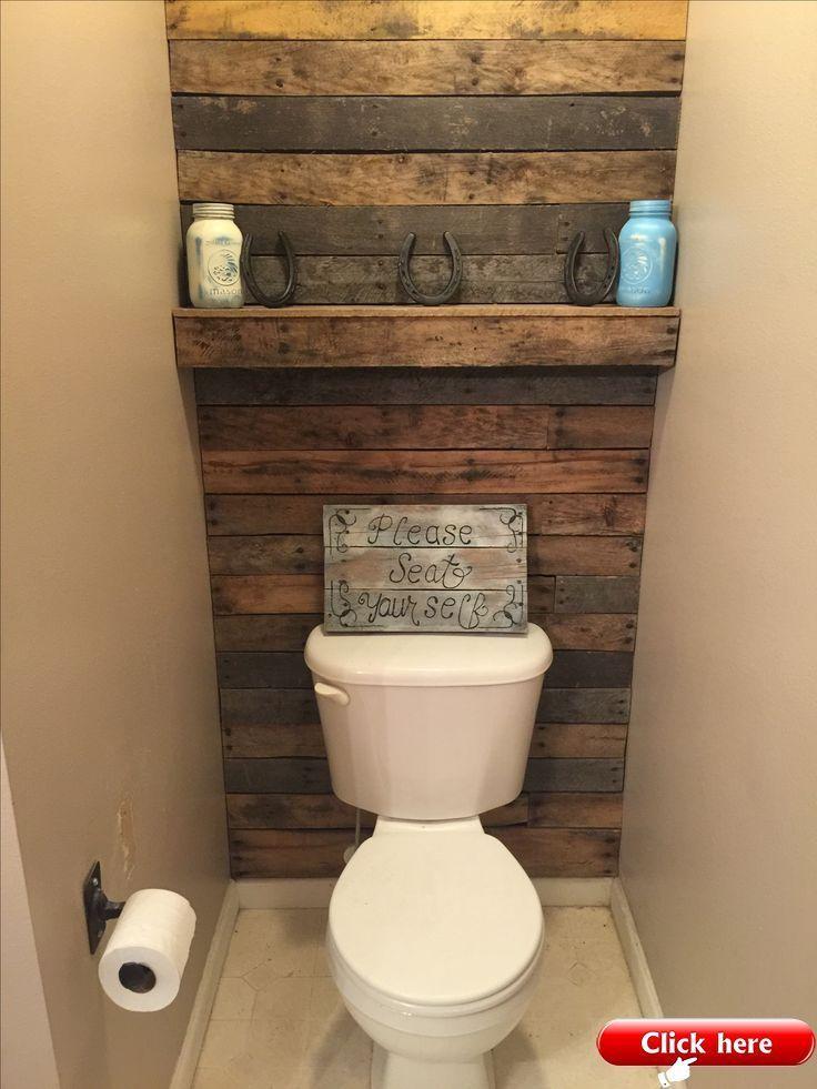 Meine Palettenholzwand Und Regal 2019 2019 Und Mein Palett Shelf Wa Mein Meine Pale In 2020 Pallet Wall Bathroom Wood Pallet Wall Pallet Bathroom