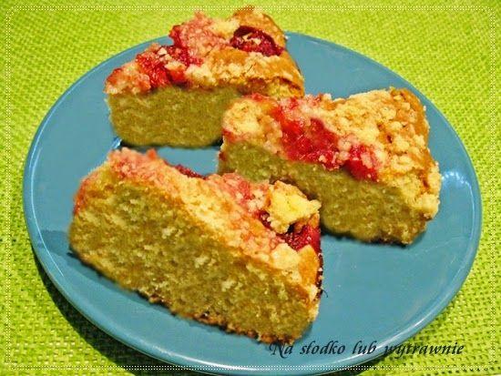 Na słodko lub wytrawnie: Ucierane ciasto z truskawkami i kruszonką II