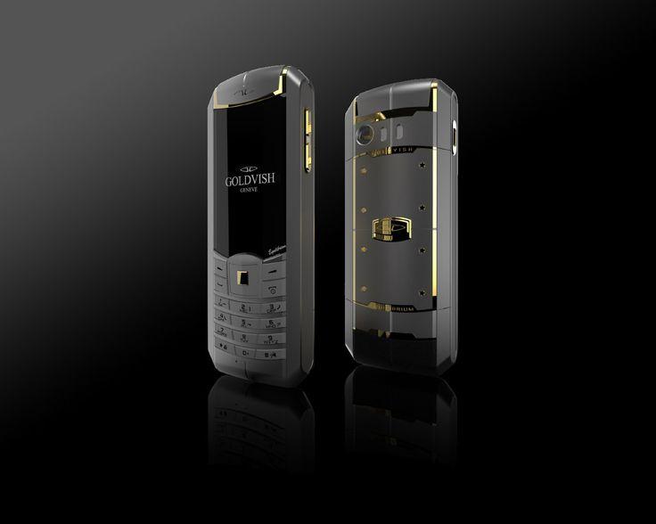 Goldvish Equilibrium - Ash Gold,   Grey metal with 18K Yellow Gold,  MSRP: €15.420,-