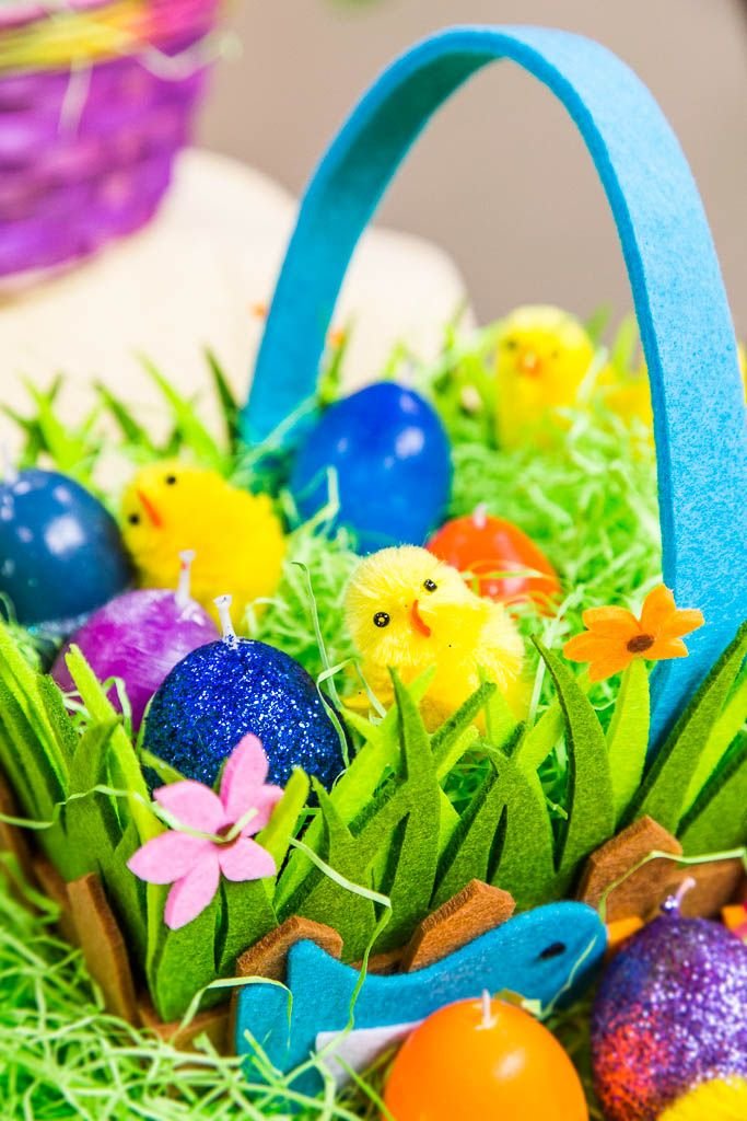31 best easter images on pinterest country decor dessert for easter make these adorable candles using melted crayons and egg shells negle Choice Image