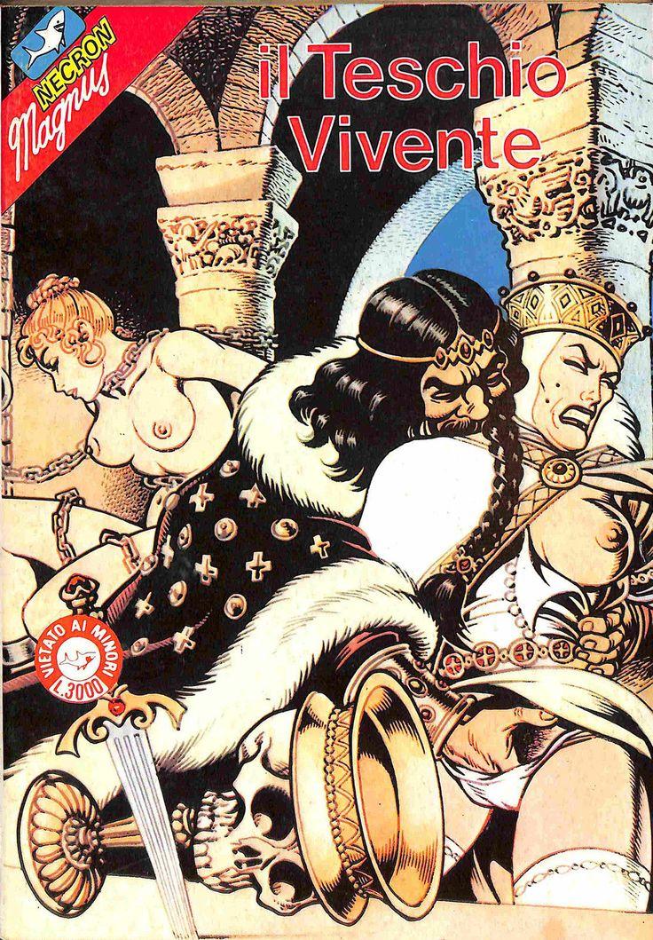 "Magnus Necron n°2 ""Il Teschio Vivente"" _ Edifumetto 1985"
