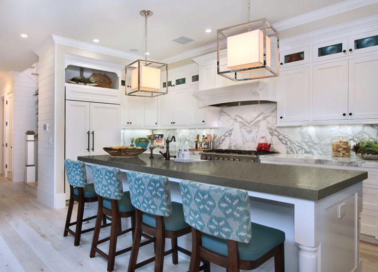 quartz stone c7 for kitchen countertops - Stone Slab Kitchen Decor