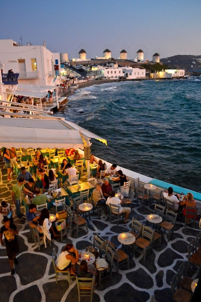 """Mykonos, Greece - More views like this coming up soon...""""Moscow to the Med in 30 Days"""" starts tomorrow!"""