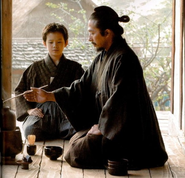 'The Samurai class of feudal Japan was very much linked with the arts of the…