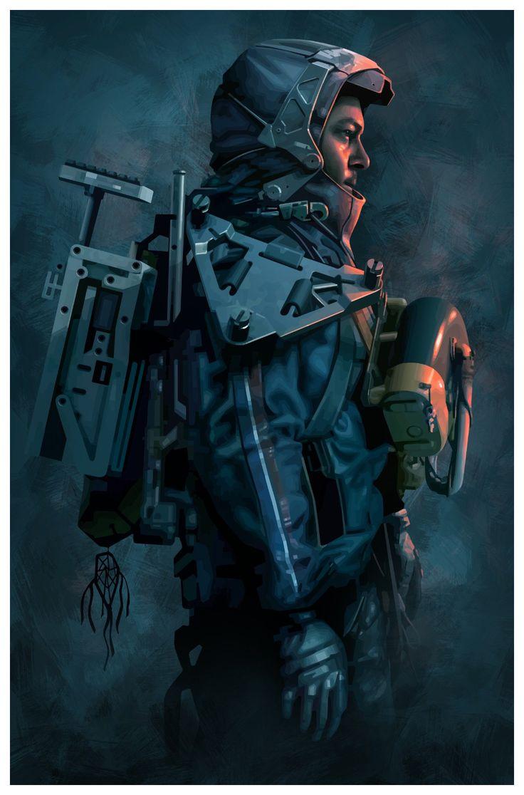 Brian Taylor on Death, Gear art, Death stranding ps4