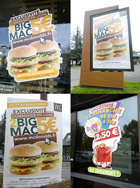mcdonalds.fr x Bigmac / Happymeal Campaign x Creation x Production x Pose #Rennes #Alma #Cesson #StGregoire #Longchamps #Cleunay #Colombia #Villejean