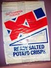XL ready salted crisps - great on a crisp butty!