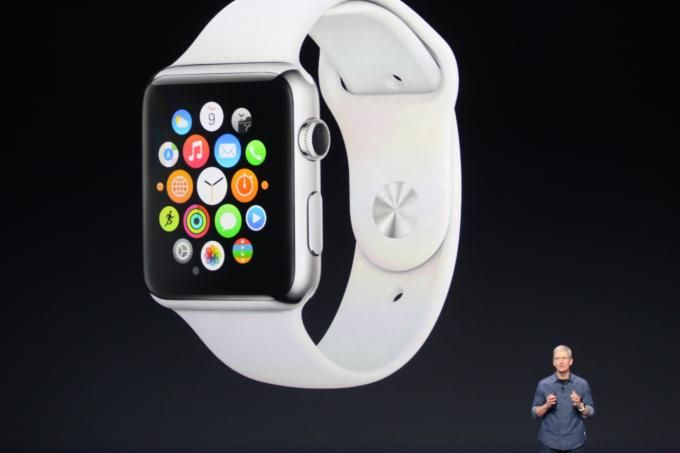 The beautiful new #AppleWatch presented by Tim Cook!