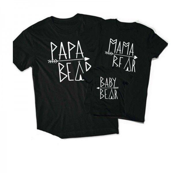 Vêtement père fils, père fille, papa et bébé
