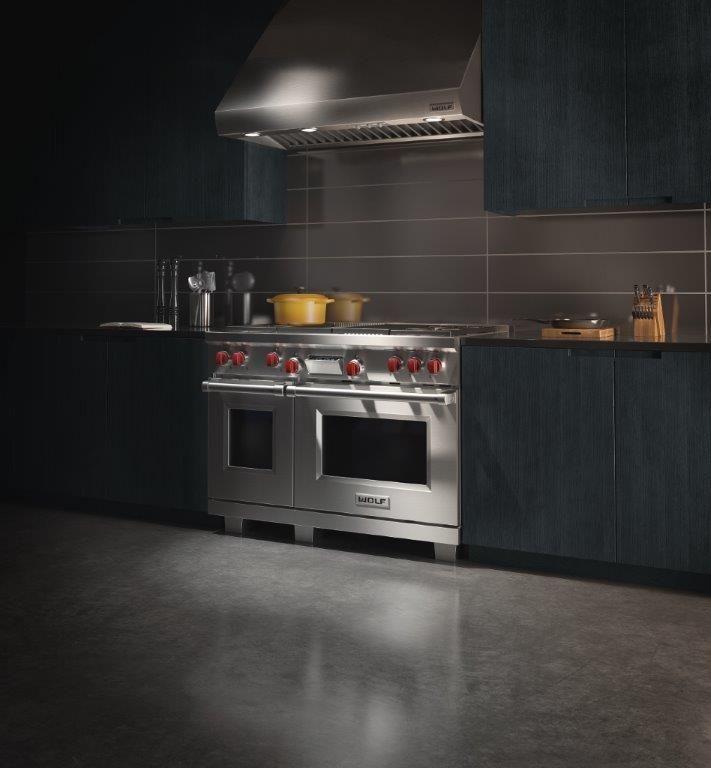 Wolf's Dual Fuel gas-elektro fornuizen maken professioneel koken thuis mogelijk.
