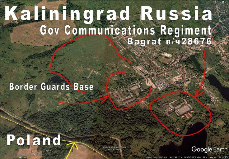 "Bagrationovsk ""Bagrat"". Military town right on Polish border. That Comm Regiment was involved in sigint, intel etc, EW etc."