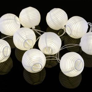 Outdoor Chinese Lantern String Lights