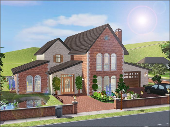 My Creations For The Sims Sims House Sims House Design Sims 2 House
