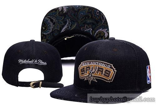 San Antonio Spurs Paisley Strapback Hats Canvas cap Leather Brown Brim 11|only US$6.00 - follow me to pick up couopons.