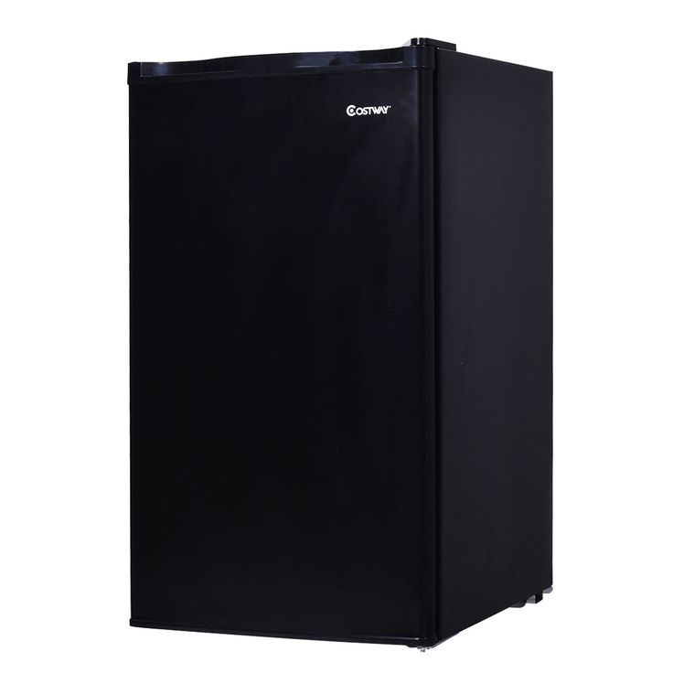 3.2 Cu.Ft. Compact Refrigerator Mini Dorm Small Fridge Freezer Reversible Door