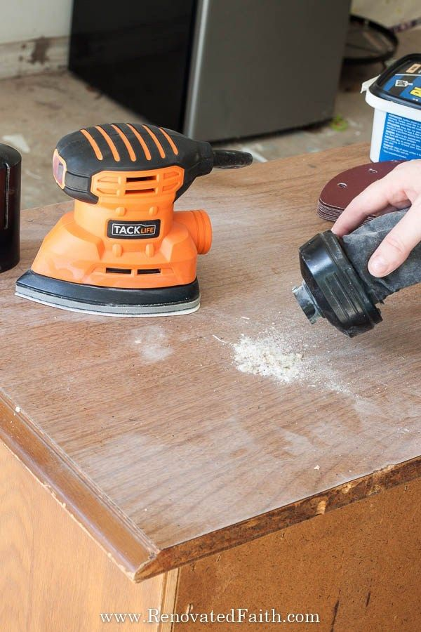 Sanding Wood Resin Patio Furniture