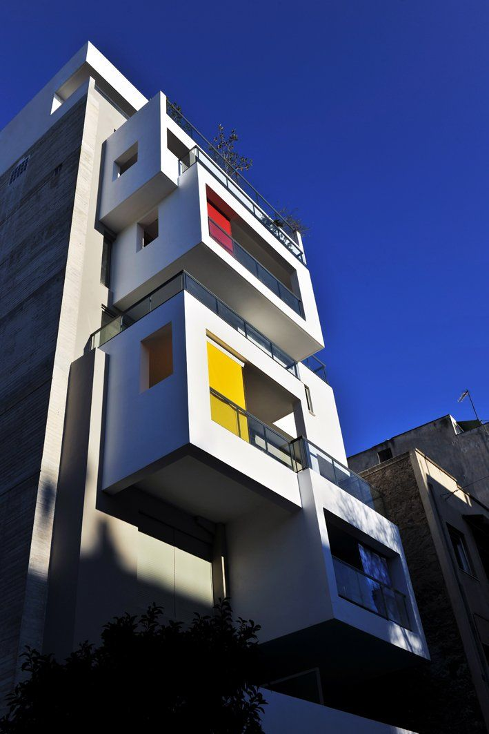 KLab Architecture have designed the Urban Cubes building in Athens, Greece -  CONTEMPORIST