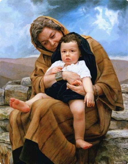 Image result for old testament baby