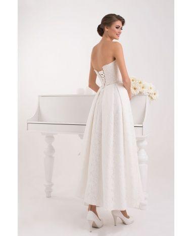 PASCAL - luxusné korzetové svadobné šaty po členky