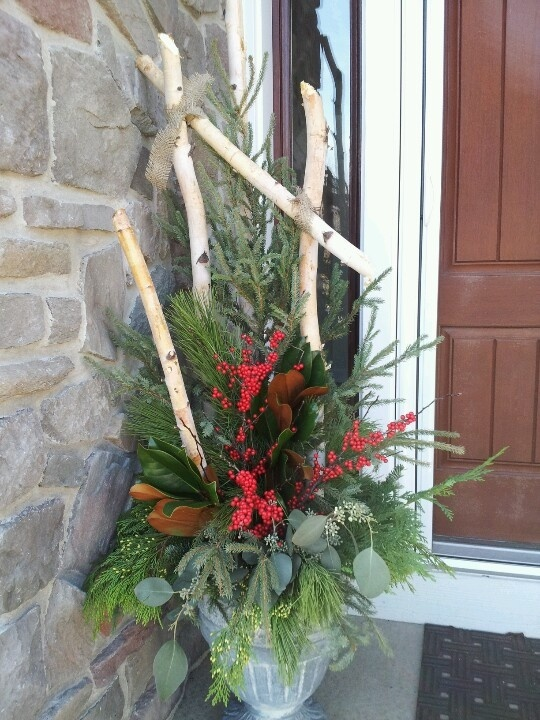 Large Christmas Wreaths Outdoors