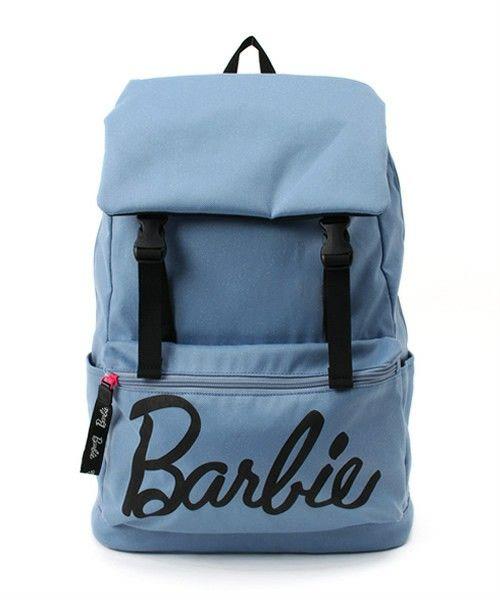 Barbie(バービー)の【Barbie】  ルル シリーズ デイパック リュック かぶせタイプ / 54452(バックパック/リュック) ブルー