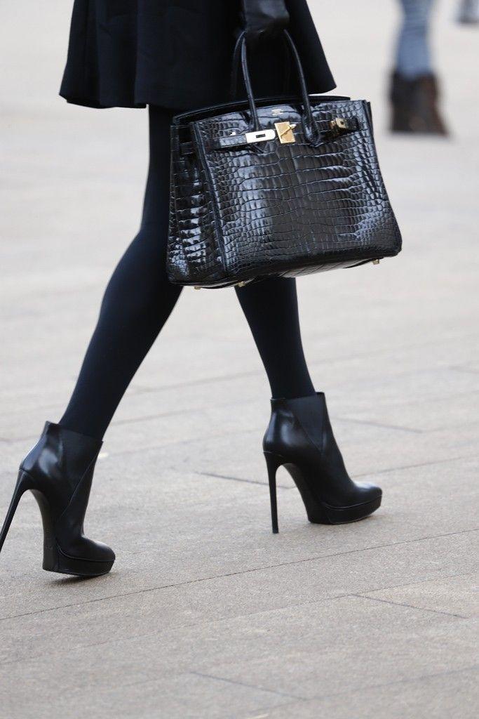 All Black-They Are Wearing: New York Fashion Week Fall 2014 - Slideshow - WWD.com
