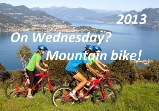 Riding mountain bike at Lake Maggiore – 2013... If you love mountain bike and you are on holiday at Lake Maggiore, why don't you join Sarah on Wednesdays?