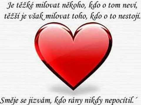 Láska, smutek, trápení