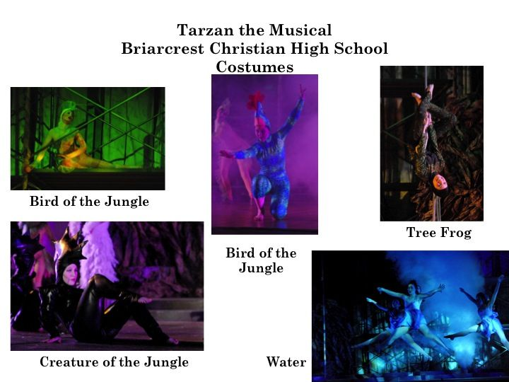 Costuming Tarzan 2013